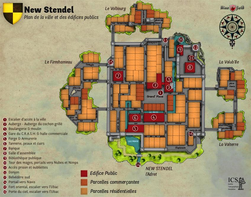 Plan général de la capitale New Stendel