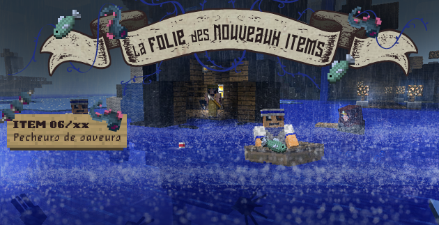 minecraft fisherman's new items
