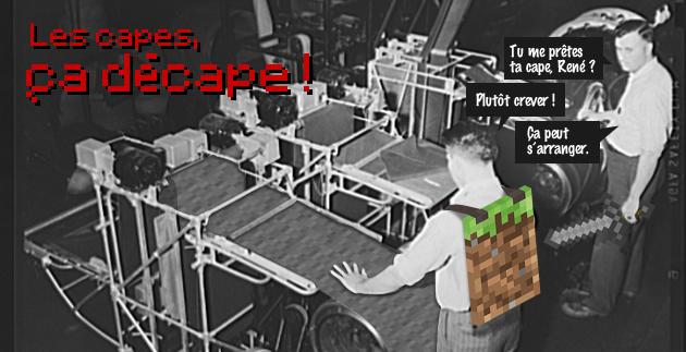 capes cloak SMP serveur minecraft
