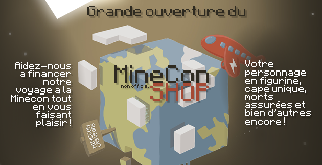 minecon unofficial shop minefield