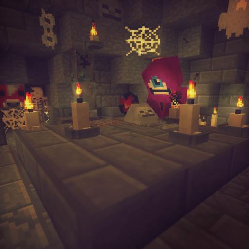 Bougies dans minecraft